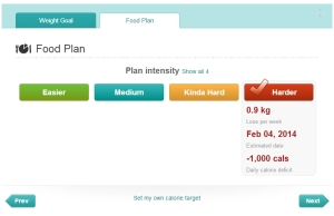 FitBit Food Plan